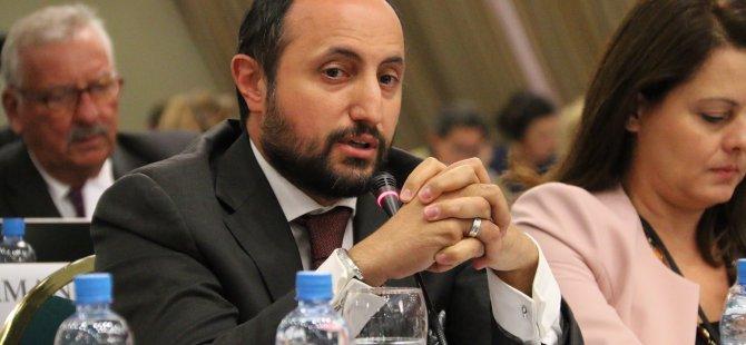 AK Parti Milletvekili İsmail Karayel AGİTPA'da Türkiye adına konuştu
