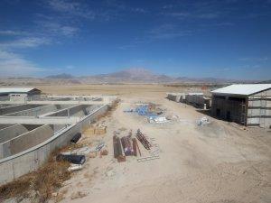 Develi'de Arıtma tesisi çalışmalarında sona yaklaşıldı