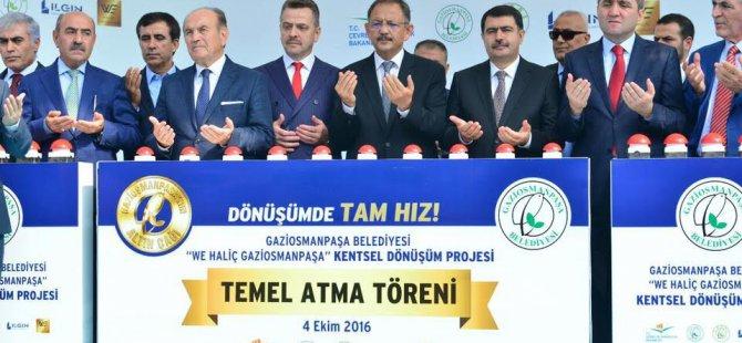 """""""49 İLDE KENTSEL DÖNÜŞÜM ÇALIŞMASI VAR"""""""