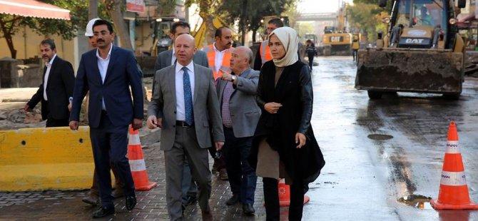 Kocasinan'da Serçeönü, Fatih ve Fevzi Çakmak'ta  çalışmalar