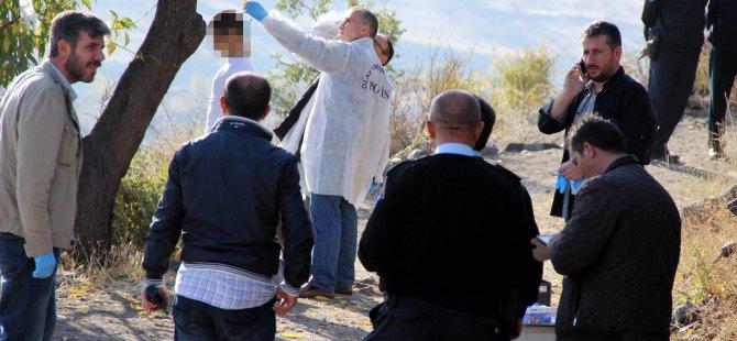 Kayseri Danışment'te Ağaca asılı erkek cesedi bulundu