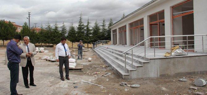 İncesu Belediyesi Süksün Mahallesine ticaret merkezi yapıyor