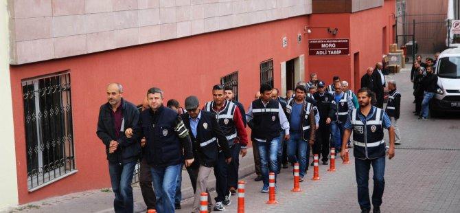 Kayseri'deki FETÖ/PDY soruşturması 63 kişi adliyeye sevk edildi