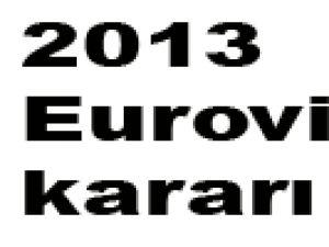 2013 Eurovision kararı