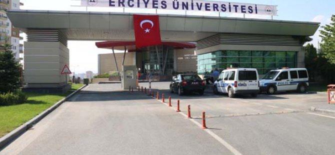 Kapatılan Melikşah Üniversitesi Yerleşkesine 'Erciyes Üniversitesi 15 Temmuz Yerleşkesi' adı verildi