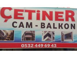 Çetiner Cam balkon Kayseri'de