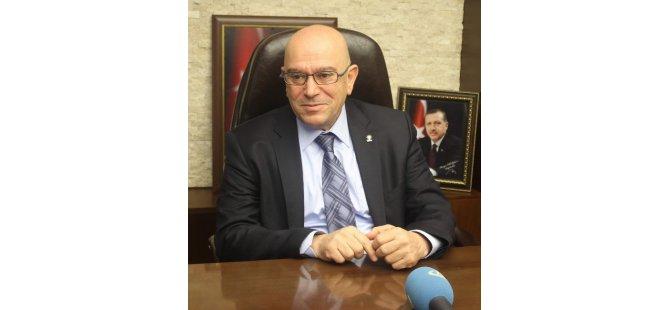 Ak Parti İl Başkanı H.Cahit Özden 2017 yılında başkanlık sistemi