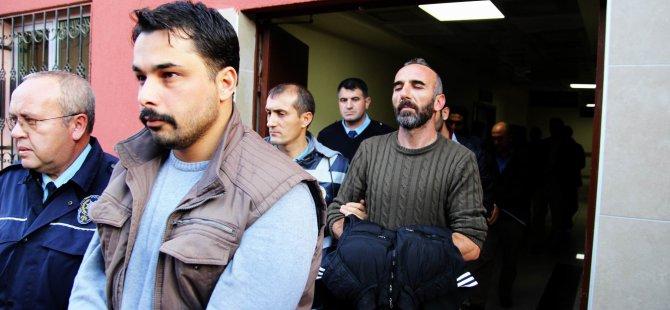 Kayseri'de FETÖ soruşturmasında açığa alınan 14 polis adliyeye çıkarıldı