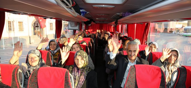 Büyükşehir, gazi ailelerini Çanakkale'ye uğurladı