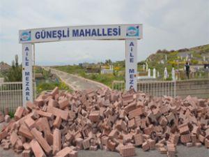 Kocasinan'dan Mezarlıklara Çevre Düzeni
