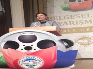Milletvekili Pelin Gündeş Bakır kısa belgesel film yarışması ödül törenine katıldı