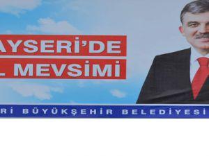 CUMHURBAŞKANI ABDULLAH GÜL KAYSERİ'YE GELİYOR