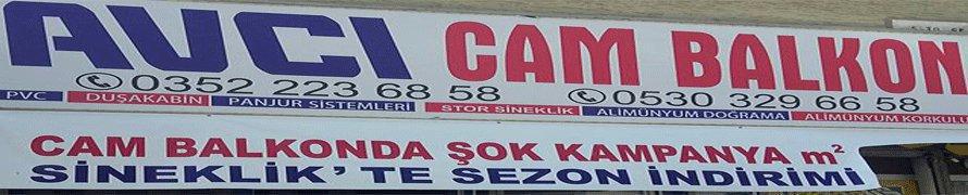 AVCI CAM BALKON PVC: