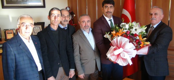 Yılın ilk sözleşmesi Yeşilhisar Belediyesi'nden