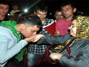 KAYSERİ'Lİ KINALI KUZULAR KIŞLA YOLUNDA