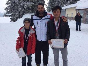Develi Belediyesi kayak sporcularından bir başarı daha