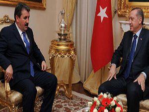 Destici: Başbakan Erdoğan'la buluştu