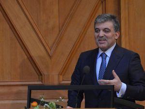 Abdullah Gül'den  'Yeni Anayasa' açıklaması
