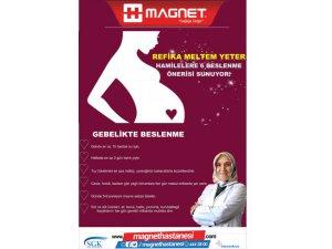 Magnet Hastanesi Hamilelere 6 beslenme önerisi sunuyor