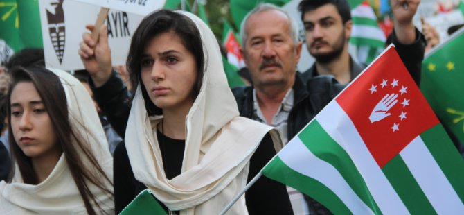 Kayseri'deki Çerkesler 21 Mayıs Soykırım ve Sürgününü Andı