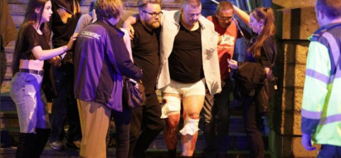 İngiltere'de Bombalı saldırı 19 ölü 50 yaralı