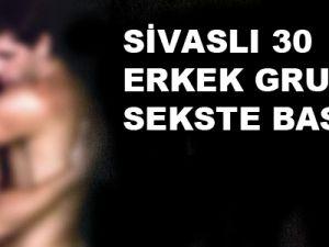 Sivaslı 30 Erkek Grup Sekste Basıldı