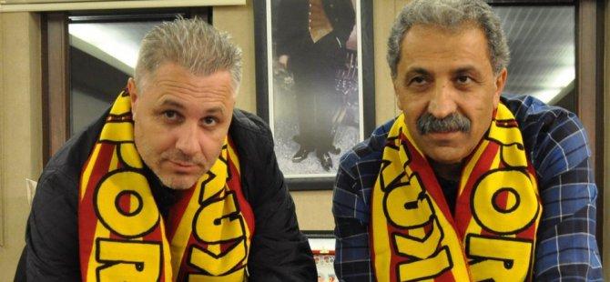 Kayserispor'un Hocası Türkler çılgın olduğu için geldim