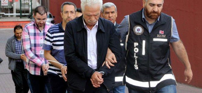 Kayseri'de FETÖ'ye Para Yardımı eden 5 kişi adliyede