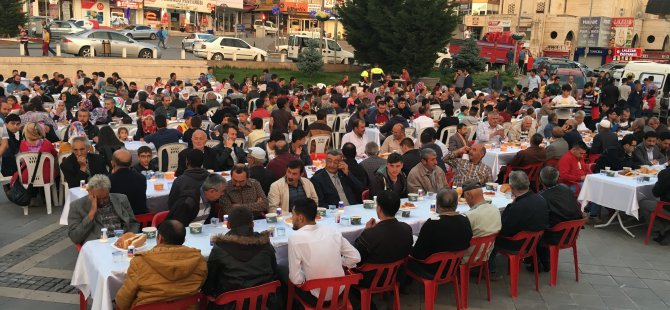 MHP Develi İlçe Başkanlığından iftar