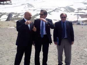 Yunan Ve Macar Büyükelçileri Erciyes'e Hayran Kaldı