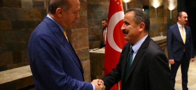 Cumhurbaşkanı Erdoğan, Huber Köşkü'nde medya temsilcilerine iftar verdi