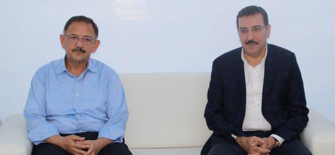 Bakan Tüfenkci'den Özhaseki'ye taziye ziyareti