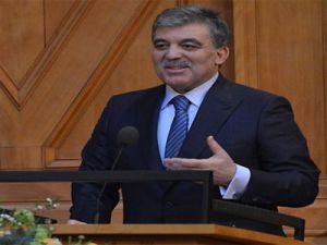 Cumhurbaşkanı Gül'den sağduyu mesajı