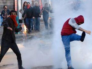 1 Mayıs Olaylarla Başladı: Polis Gruplara Müdahale Ediyor
