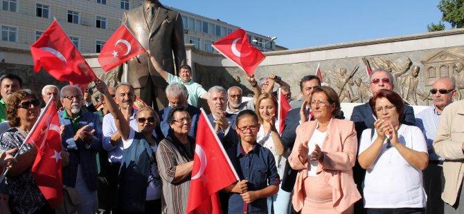 Cumhuriyet Meydanı CHP 94'üncü yıl kutlamaları yapıldı