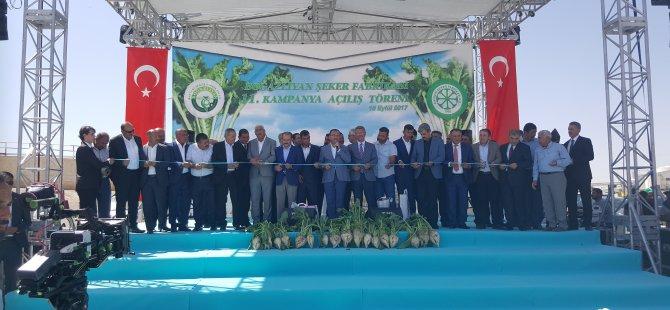 Başbakan Yardımcısı Bozdağ,Pancar çiftçisine müjdeyi verdi