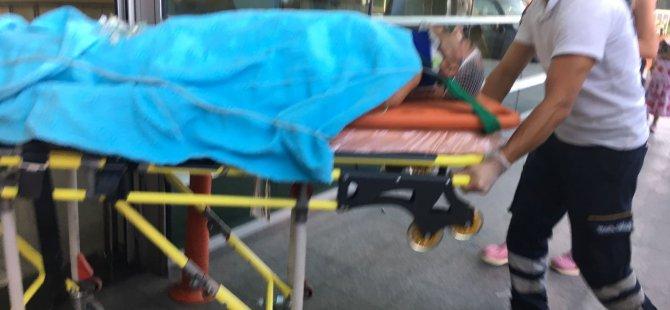 Pınarbaşı'nda Minibüsün lastiği patladı: 12 yaralı