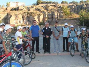 Başkan Karayol, 'Yaşam İçin Pedalla' programına katıldı