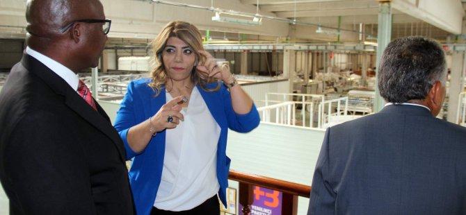 Güney Afrika Cumhuriyeti Büyükelçisi BRN Yataklarını ziyaret etti