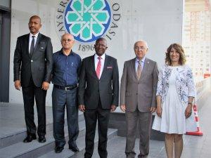 Güney Afrika Cumhuriyeti Heyeti'nden KTO'ya Ziyaret
