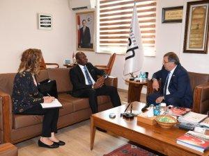 Güney Afrika heyetinden Kayseri OSB'ye ziyaret