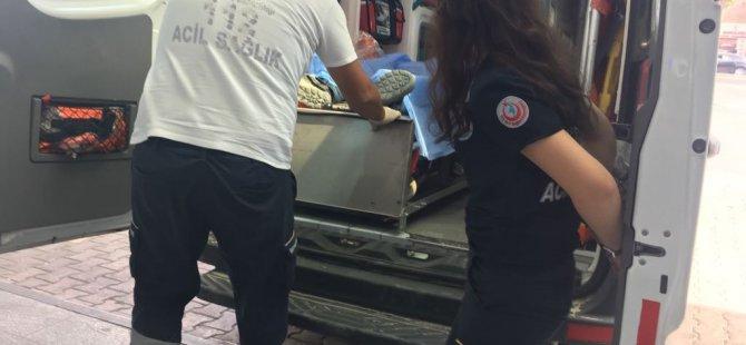 Şeker'de 3 Kattan iskeleden düşen işçi yaralandı