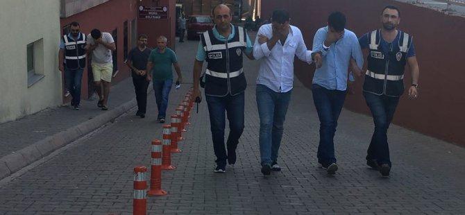 Kayseri'de Kuyumculara Sahte altın satmaya çalışan 3 kişi yakalandı