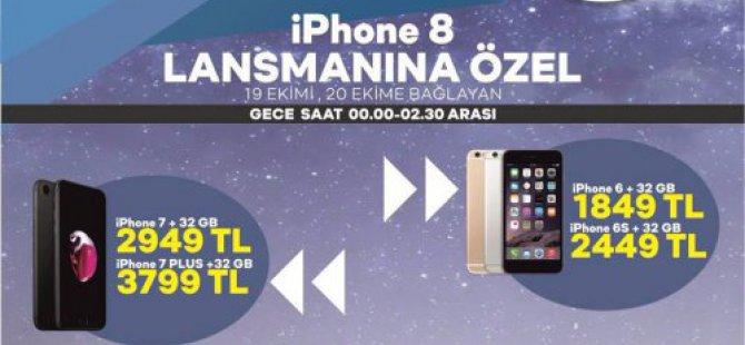 Bingöl ticaret iPHONE 8 Lansmanına özel fiyatlarla: