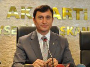 AK PARTİ İL BAŞKANI DENGİZ, ERCİYESSPOR'U KUTLADI