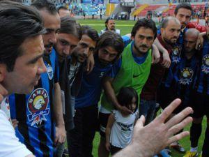 Kayseri Erciyespor, 1 kez düştü, 3 kez çıktı