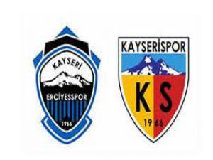 Kayserispor'dan Erciyesspor'a Kutlama