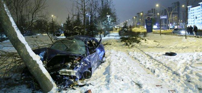 Kayseri-Niğde karayolunda trafik kazası: 1 ölü.