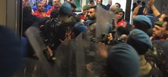 Kayserispor Alanyaspor maçı sonrası saldırı büyük olaylar