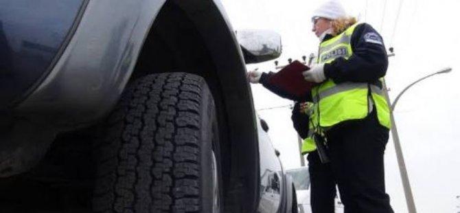 Kayseri Emniyet'ten Açıklama Kış lastiği kullanım zorunluluğu başladı
